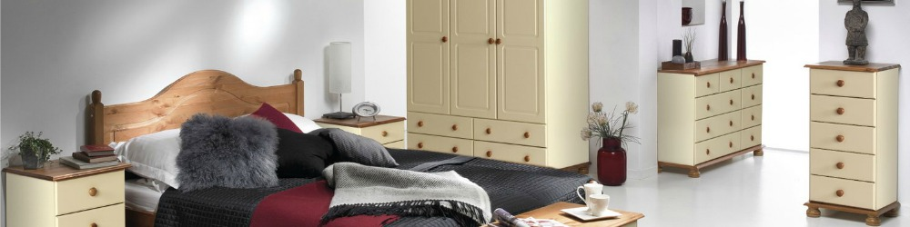 Copenhagen Cream Bedroom Furniture