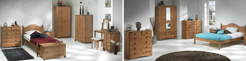 Copenhagen Pine Bedroom Furniture