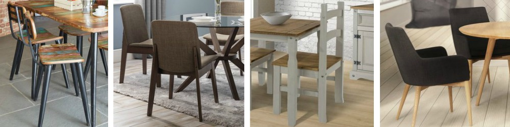 Dining Chairs in Modern and Traditional Designs