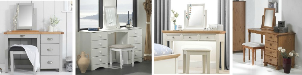 Dressing tables in modern and traditional designs