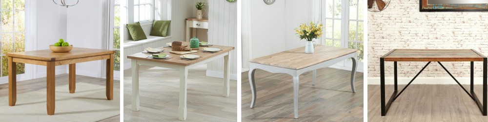/Rectangular Dining Tables on trend and traditonal