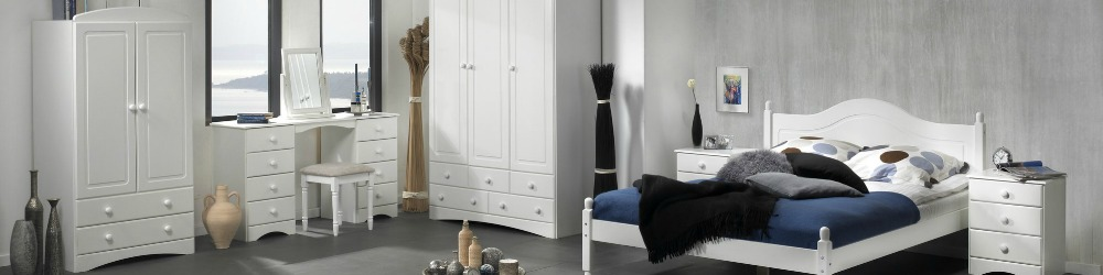 Scandi White Bedroom Furniture