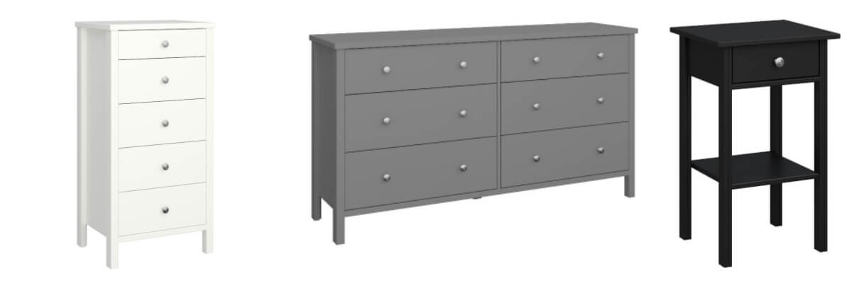 Tromso Bedroom Furniture