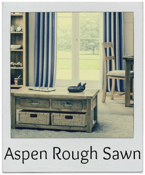Aspen Rough Sawn Pine