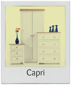 Capri White Bedroom Furniture