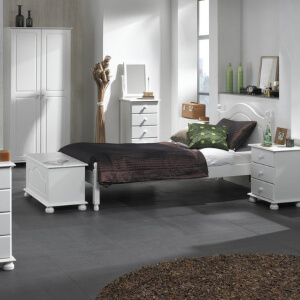 Copenhagen White Bedroom Furniture