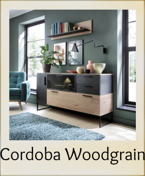 Cordoba - Woodgrain Effect with Dark Accent
