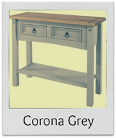Discover the new Corona grey washed furniture range