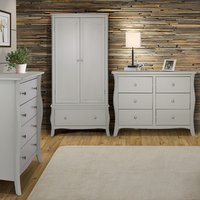 Browse the new Josephine Grey bedroom furniture range