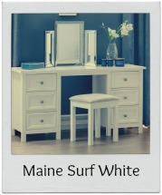 Discover the Maine Surf White furniture range