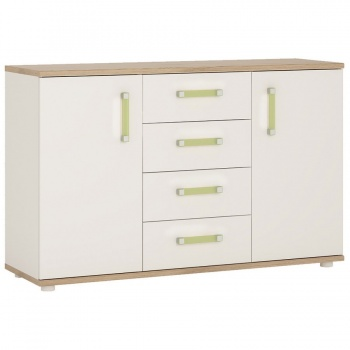4 Kids 2 Door 4 Drawer Sideboard