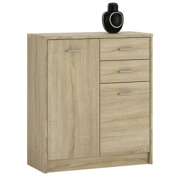 4 You 2 Door 2 Drawer Cupboard - Sonama Oak