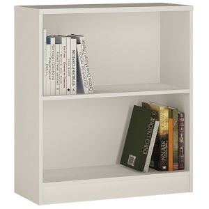 4 You Low Bookcase - Pearl White