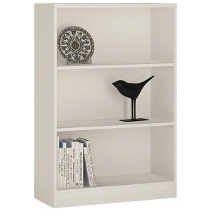 4 You Medium Bookcase - Pearl White