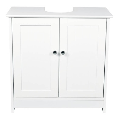 Alaska White Bathroom Vanity Unit