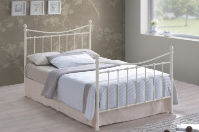 Alderley Metal Bed - Double