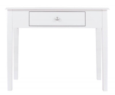 Arabella White Painted Console Dressing Table