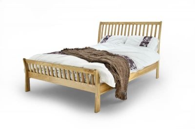 Ashton Solid Oak Bed Frame - King-Size