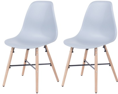 Aspen Design 6 Plastic Chair - Pair