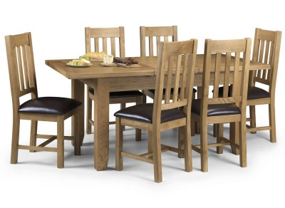 Astoria Oak Extending Dining Table & Chairs