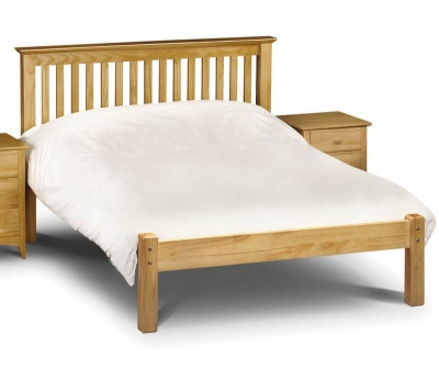 Barcelona Pine Double Bed Frame