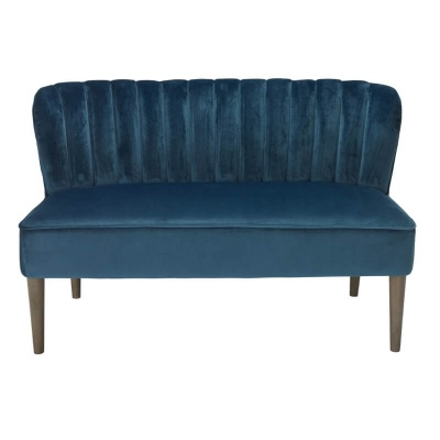 Bella 2 Seater Cocktail Sofa - Midnight Blue