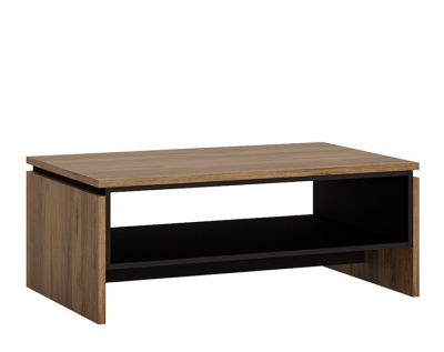 Brolo Coffee Table - Walnut and Dark Finish