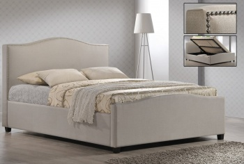 Brunswick Ottoman Fabric Bed - Double