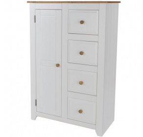 Capri White Tallboy