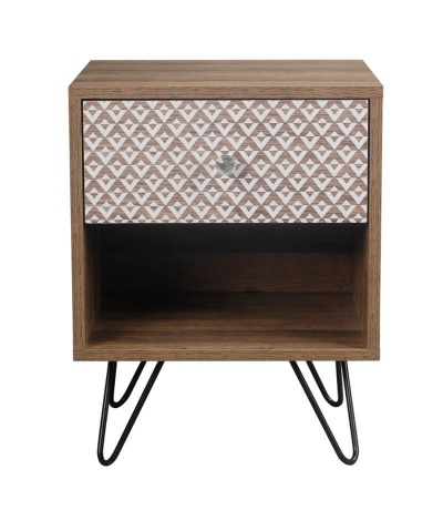 Casablanca One Drawer Lamp Table