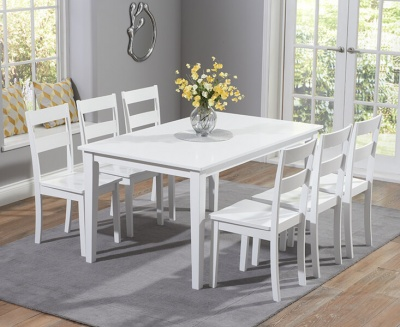 Chichester 150 cm Dining Table with Six Chairs