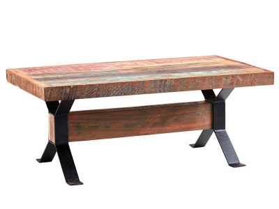 Coastal Coffee Table - Rustic Reclaimed Wood