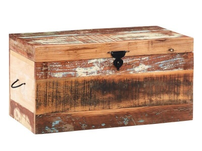 Coastal Trunk Box - Rustic Reclaimed Wood