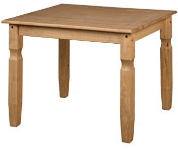 Corona Pine Square 75 cm Dining Table