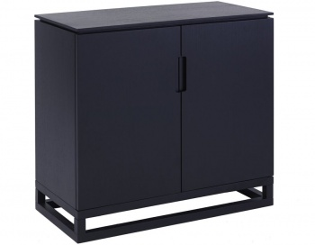 Cordoba Small Low Sideboard - Black
