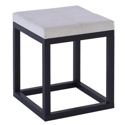 Cordoba Dressing Table Stool - Upholstered Seat