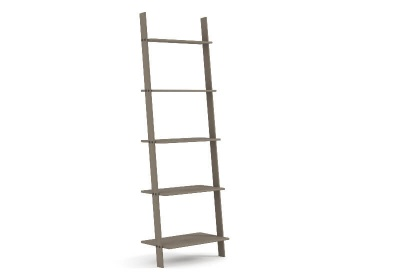 Corona Grey Washed Ladder Design Shelf Unit