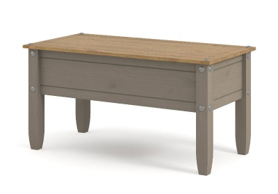 Corona Grey Washed Coffee Table