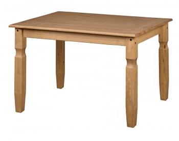 Corona Pine 118 cm Dining Table