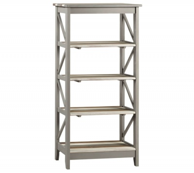 Corona Vintage 5 Tier Wide Shelf Unit