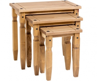 Corona Pine Nest of Tables