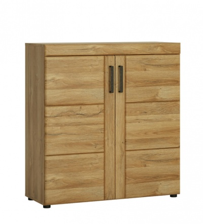Cortina 2 Door Shoe Cabinet Grandson Oak Effect
