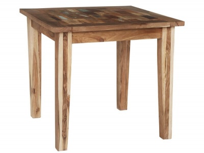 Coastal Small Dining Table  - Rustic Reclaimed Wood