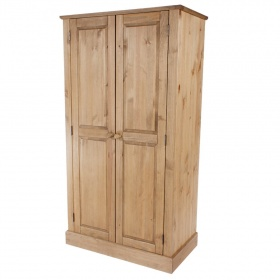 Cotswold Pine Double Wardrobe