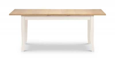 Davenport Extending Dining Table - Ivory & Oak