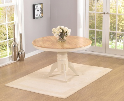 Elstree 120cm Round Pedestal Dining Table