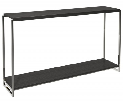 Federico Console Table Chrome Frame