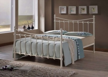 Florida King-Size Metal Bed Frame