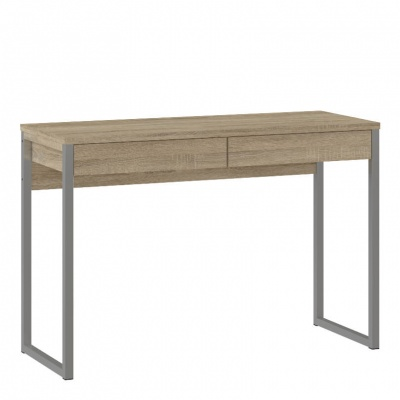 Function Plus Desk 2 Drawers in Oak