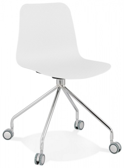 Funky White Desk Chair